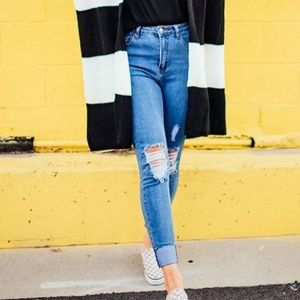 Dressed in Lala | Super High Rise Skinny Jeans